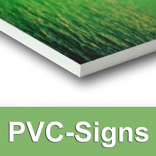 Signs Coroplast PVC
